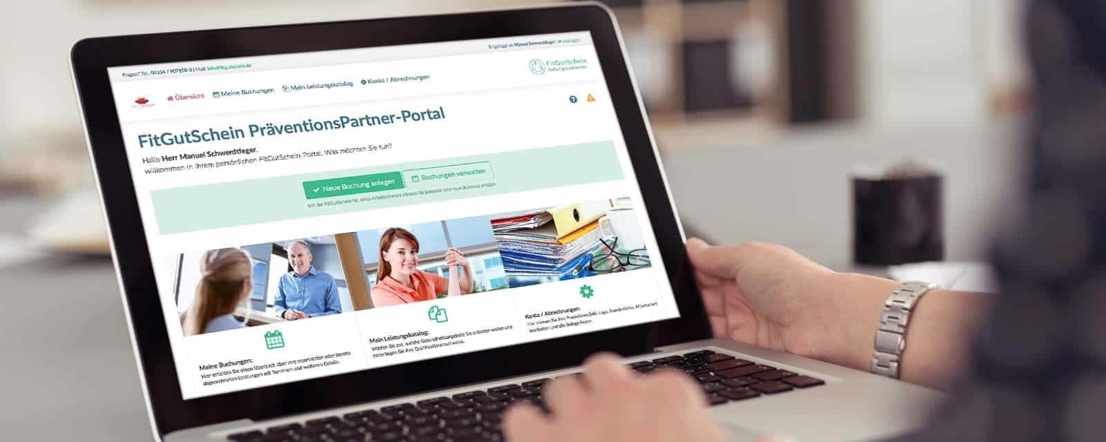fitgutschein-praeventionspartner-portal-bildschirm